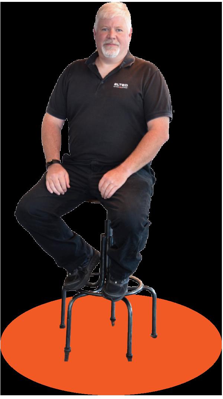 Eric Lindblad Mechanic in Charge